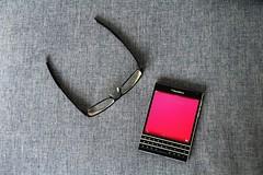 (dahmokles) Tags: glasses phone blackberry