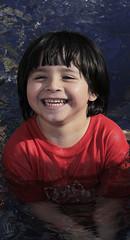 Javier (ValeriaDAF) Tags: boy party summer portrait pool fiesta circus retrato verano hdr alberca