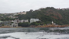 Knysna Heads (Rckr88) Tags: ocean africa travel sea cliff nature water southafrica outdoors coast south lagoon cliffs estuary coastal coastline gardenroute knysna westerncape rockycoastline knysnaheads knysnalagoon