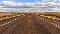 Mile 318 (Saurav Pandey) Tags: road trip travel blue summer arizona sky cloud nature beautiful beauty field grass clouds way landscape outdoors freedom drive countryside amazing highway day driving skies open view unitedstates desert natural outdoor empty awesome horizon country sunny route journey lane transportation lonely middle asphalt desolate picturesque plain lanes