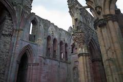 Melrose Abbey - South Transept (David_Leicafan) Tags: abbey scotland capital ruin melrose borders 28mmsummicron