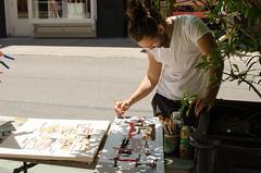 SoHo Paint (zac evans photography) Tags: city nyc urban newyork art brooklyn painting island paint metro soho canvas queens painter manhatten staten yaszacevansphoto