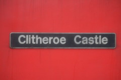 Clitheroe Castle (laurasia280) Tags: nameplate 60024