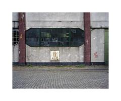 window (ha*voc) Tags: urban film mediumformat rotterdam industrial rangefinder 6x7 220 80mm urbanfragments fujiprovia100 mamiya7ii urbanentropy urbanabstraction