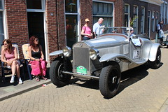 1929 Lancia DiLambda (Davydutchy) Tags: auto classic netherlands car automobile tour ride rally may nederland convertible voiture bil vehicle oldtimer frise rit paysbas friesland lancia niederlande cabriolet bolsward 2016 classico klassiker klassiek fryslân pkw elfstedentocht frisia veterán tocht automobiel boalsert dilambda