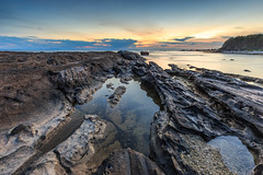 _MG_0071 (Nguyn nh Thnh) Tags: longexposure sunset sea mountain water sunrise rocks asia seascapes cloudy vietnam filter asean quangngai lyson singhray thachkydieutau