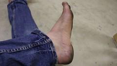 dirty feet - indoor 580 (dirtyfeet6811) Tags: feet barefoot soles dirtyfeet dirtysoles blacksoles