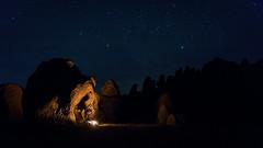(justinbastien) Tags: california camping camp male campfire easternsierras alabamahills justinbastien