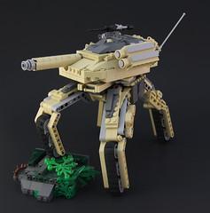 M1ATB Walker (DeadGlitch71) Tags: modern walking us tank lego transformer military il walker weapon future cannon rockets custom abrams armored mech treads m240 m1abrams futureistic foitsop mechatank