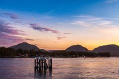 Sunset in Ketchikan, Alaska (ZakZeinert) Tags: skyporn buey ketchikan sunset water sky beautiful alaska ocean clouds
