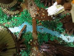 Ewokdorf - Bachlauf 02 (KW_Vauban) Tags: starwars lego endor ewokvillage episodevi thereturnofthejedi