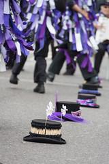 191/366 (Backfill) 366 Project 2 All Around My Hat  - 2016 (dorsetpeach) Tags: hat festival dance purple folk dorset 365 poole 2016 366 aphotoadayforayear 366project second365project anonymousmorris folkonthequay