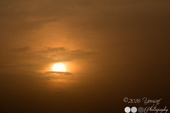 Eye in the Sky (yousaf10c) Tags: blue pakistan light sunset sky sun beauty clouds golden punjab lahore goldenhour