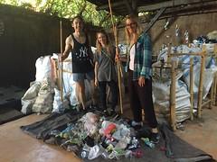 Trash Walk Adventure (greenbyjohn) Tags: sampah john hardy bambuindah ubud sayan solution sustainable