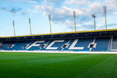 The stadium: Blue, white and green (jaeschol) Tags: switzerland sony luzern zuerich fcl a900
