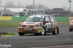 Renault Clio (199) (Kenny Hall) (tbtstt) Tags: hall championship cross 5 rally clio super renault croft round modified kenny circuit 199 rallycross 2014 btrda