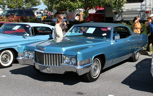 1970 Cadillac DeVille convertible - a photo on Flickriver