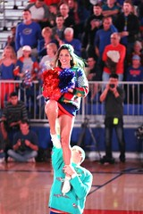 Gator Cheerleaders (dbadair) Tags: christmas basketball sweater texas florida gainesville gators southern ugly tigers uf 2014 baskeball
