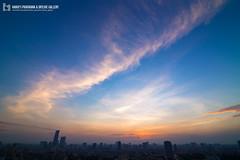 vl_03807 (Hanoi's Panorama & Skyline Gallery) Tags: city sunset sky panorama cloud lake building skyline architecture skyscraper canon asian asia capital skylines landmark vietnam architect hanoi asean appartment lotte vitnam hni skyscrapercity caoc nguynchthanh keangnamlandmark
