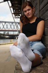Anna_Serie_01_0083 (naw_hh) Tags: girls woman hot sexy feet socks fetish women shoes toes soft legs skin painted dirty nike used nails smell heels sniff puma sniffing adidas schuhe fsse smelling fetisch