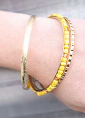 Sunset Sightings Yellow Bracelet K1 P9440-2
