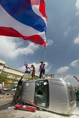 Bangkok | Thailand (Carlos Villanueva Obando) Tags: thailand asia bangkok south protest