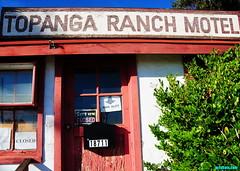 TopangaRanchMotelRevisitedAgain (mcshots) Tags: california statepark travel winter usa coast office closed afternoon stock pch socal mcshots topanga losangelescounty ranchmotel