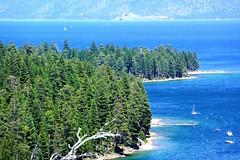 Emerald Bay and Lake Tahoe (Joe Lach) Tags: california lake mountains bay nevada laketahoe alpine sierranevada emeraldbay eldoradocounty joelach