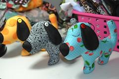 Co Amigo (Canteiro de Ideias) Tags: dog handmade artesanato craft cachorro feltro decor tecido