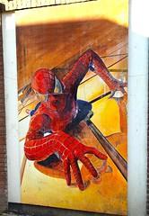 Found Spiderman in Alkmaar
