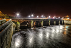 Strabane Bridge - County Tyrone (Gareth Wray Photography - Thanks = 5 Million Hits) Tags: road county christmas xmas old uk bridge ireland light red vacation sky irish holiday water wall night reflections river dark lens stars landscape photography lights star town photo nikon europe skies photographer nightscape image space side country north wide clear galaxy fox lanterns end vehicle astronomy hd flowing ni nikkor northern gareth constellations cosmos mourne ulster hemisphere tyrone starlight wray lifford strabane 1024mm d5300 tinneys hdfox