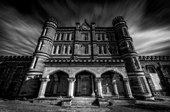 The Haunted West Virginia State Penitentiary (Frank C. Grace (Trig Photography)) Tags: building history death riot unitedstates time gothic suicide electrocution structure historic haunted prison westvirginia jail murder hanging ghosts former paranormal cells riots penitentiary moundsville prisonriots cellblocks wvp moundsvilleeconomicdevelopmentcouncil