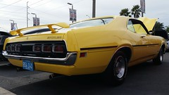 1970 Ford Cyclone Spoiler 429 Cobra Jet (Michel Curi) Tags: auto old classic cars ford yellow vintage tampa automobile antique voiture carros shelby mustang cyclone carshow coches automóvil carclub cobrajet crusein lovefl billcurrieford