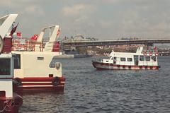 * (hiba_safwan) Tags: trip blue red sea sky bird water photoshop canon turkey boat ship istanbul wisdom eminn      100d