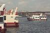 * (hiba_safwan) Tags: trip blue red sea sky bird water photoshop canon turkey boat ship istanbul wisdom eminönü سماء بحر اسطنبول تركيا ازرق 100d احمر كانون