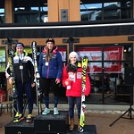 Stephanie Gartner 3rd Junior at Panorama Nor-Am Cup Slalom