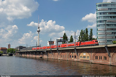 DB Br182.003 (Marco Stellini) Tags: berlin db taurus regio br182 es64u2