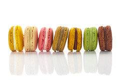 Macaroon (sanmai) Tags: pink brown rose yellow japan french dessert colorful box whitebackground kobe bakery colourful assortment assorted confectionery confection macaroons macarons macaron pierreherme renowned pastryboutique illustrativeeditorial