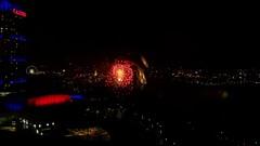 Fireworks over Niagara Falls, Ontario (Will S.) Tags: usa newyork ontario canada night america niagarafalls fireworks nighttime mypics afterdark