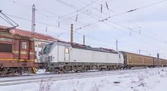 Time to go home (BackOnTrack Studios) Tags: snow station sofia siemens bulgaria 821 193 tcdd iskar vectron