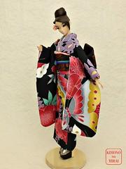 KIMONOnoMIRAI (KIMONOnoMIRAI Tsutae) Tags: kimono fr wafuku furisode misaki frnippon fashionroyalty
