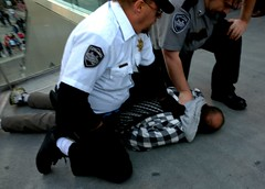 Arrested on The Strip
