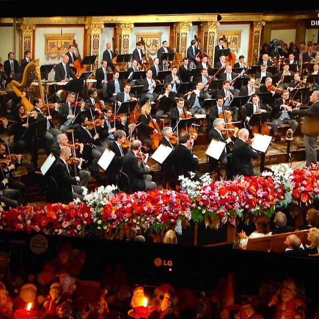 Neujahrskonzert 2015 mit ZUBIN MEHTA. Nyttårskonserten! Godt nytt år! #Neujahrskonzert #Wien #2015