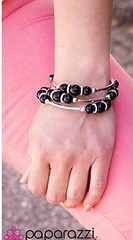 5th Avenue Black Bracelet K2 P9111A-3