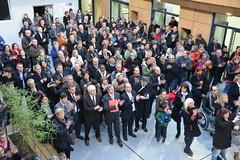 Collge Simone de Beauvoir (Ville de Villeneuve d'Ascq) Tags: de simone inauguration beauvoir villeneuvedascq collge