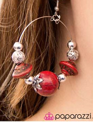 Sunset Sightings Red Earrings K1 P5920A-4