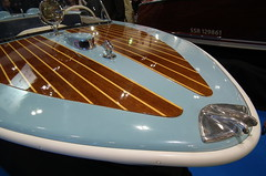 Classic Curve (dhcomet) Tags: classic speedboat bow motorboat 1964 lightblue aquila moonfleet rustee