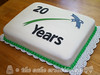 Focused Networking 20th Anniversary Cake