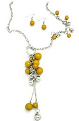 Sunset Sightings Yellow Necklace P2911-1