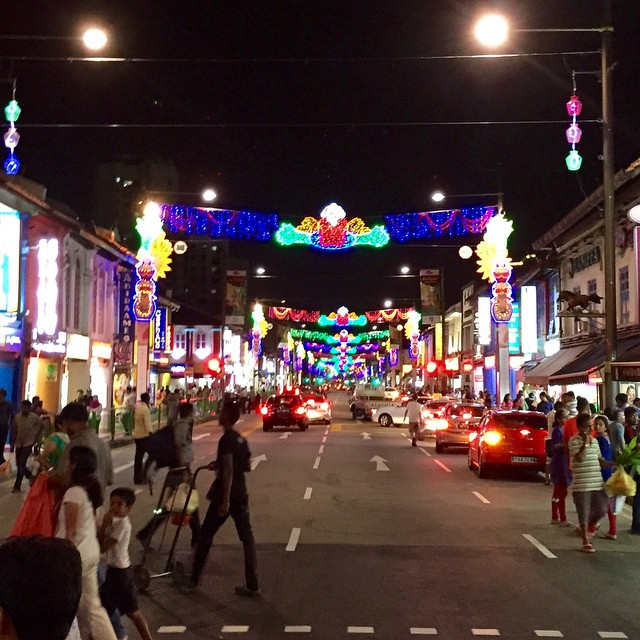 Little India decorated for Sankranti/Pongal